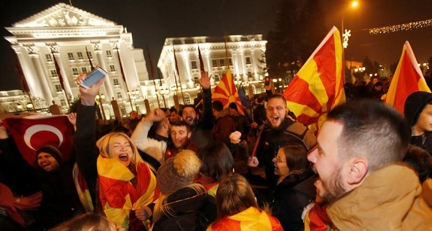 Albanian parties require the gathering of the Macedonian Parliament