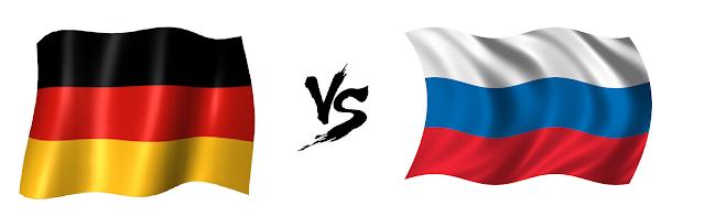 المانيا وروسيا بث مباشر