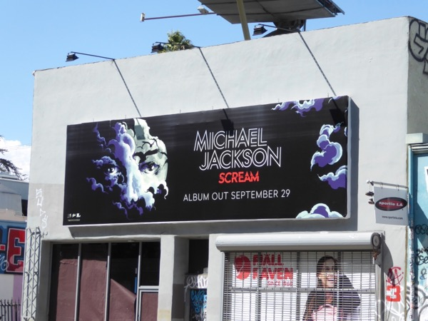 Michael Jackson Scream album billboard