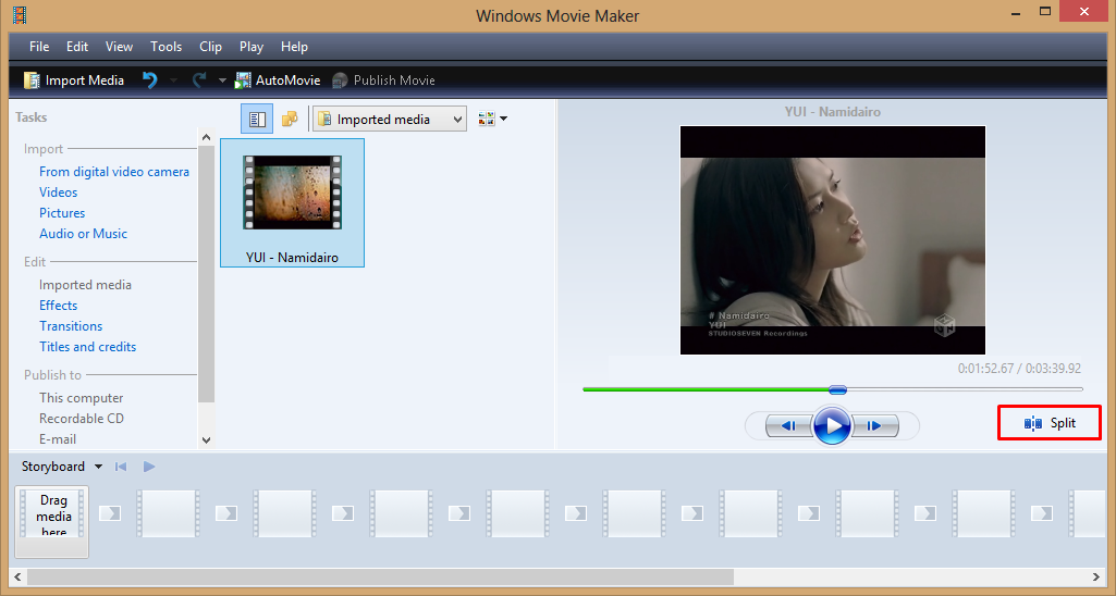 Cara Memotong Video Dengan Windows Movi Maker 3