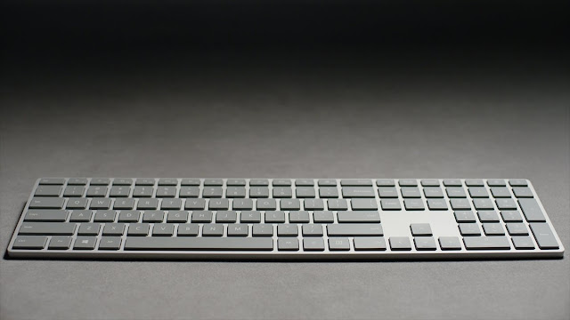 Microsoft Modern Keyboard Fingerprint