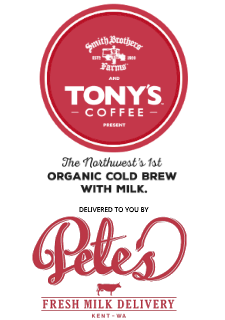 Tonys Organic Cold Brew with Milk