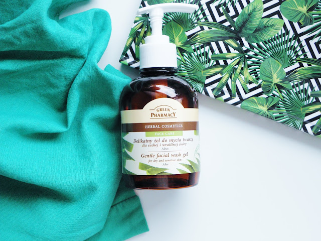 HIT za grosze | Żel myjący do twarzy z aloesem od Green Pharmacy