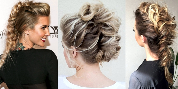 Trendy Mohawk Updos The Haircut Web