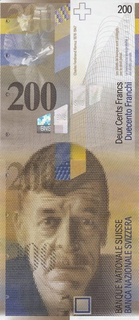 200 Swiss Francs
