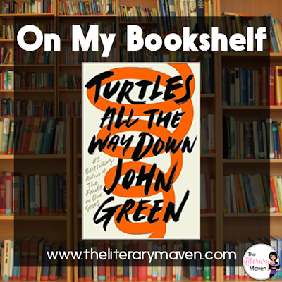 Turtles All The Way Down by John Green is just the right combination of seriousness and fun with a little mystery thrown in to the mix. It deals with friendship, the loss of a parent, teenage relationships, and mental health issues. I particularly appreciated Green's treatment of obsessive compulsive disorder and Daisy's mostly autobiographical Star Wars fan fiction writing. Read on for more of my review and ideas for classroom application.