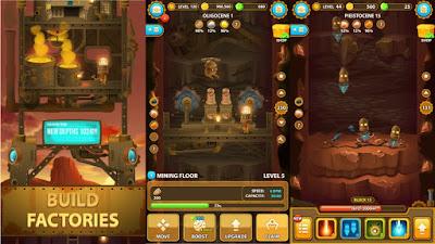لعبة Deep Town Mining Factory للأندرويد، لعبة Deep Town Mining Factory مدفوعة للأندرويد