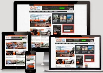 Oplosan News Responsive Blogger Template Free Download