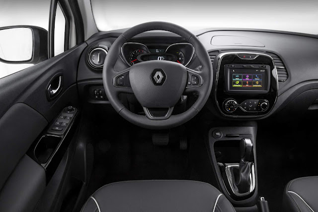 Novo Renault Captur 2017 - interior