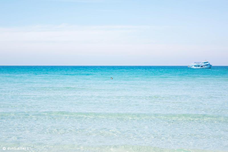 Meer kristallklar türkis Wasser Thailand