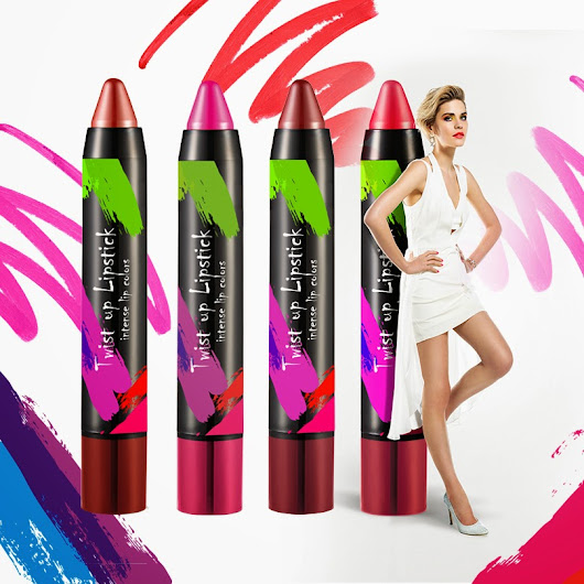 FLORMAR COLOR MADNESS KOLEKSİYONU - TWIST UP LIPSTICK MAUVE / CORAL...