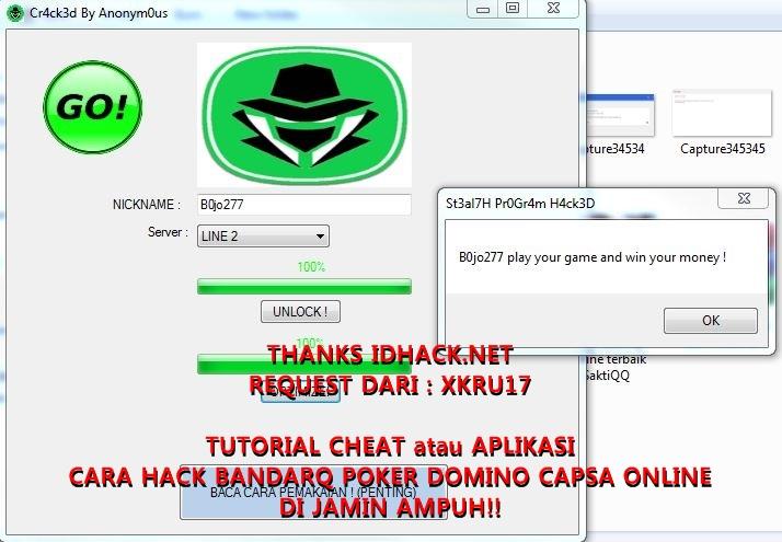 Tutorial Cheat Atau Aplikasi Cara Hack Bandarq Poker Domino Capsa Online Di Jamin Ampuh Id Hack