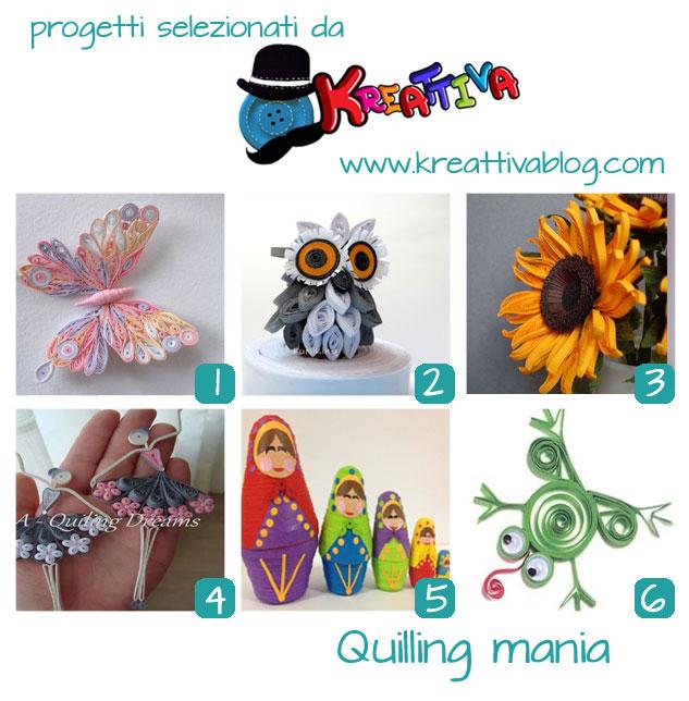 raccolta quilling kreattiva