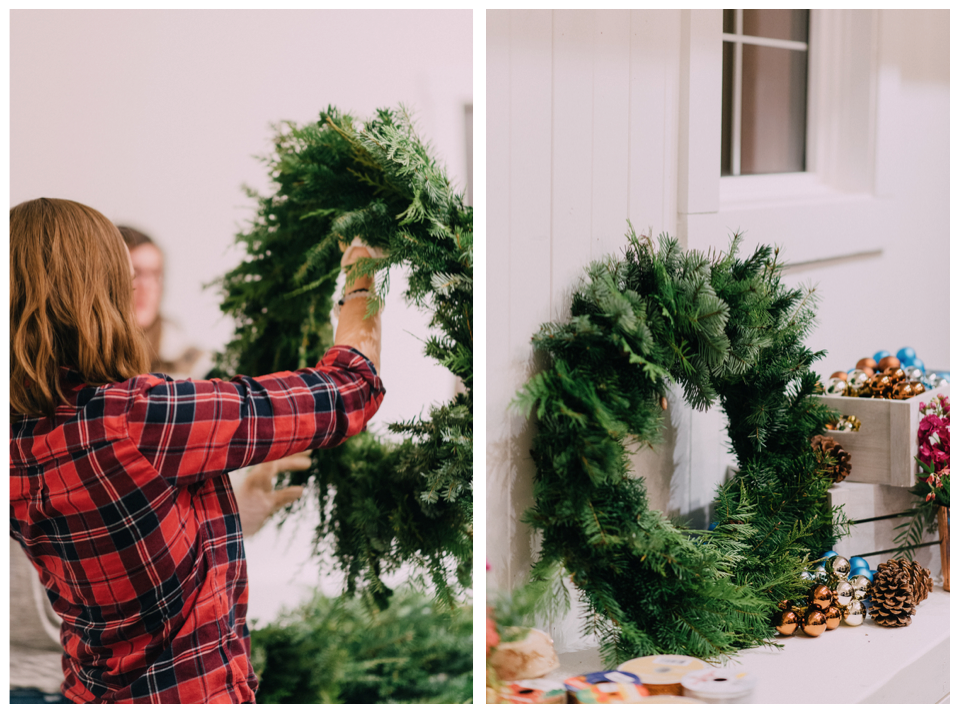 Home Confetti Wreath Making Party
