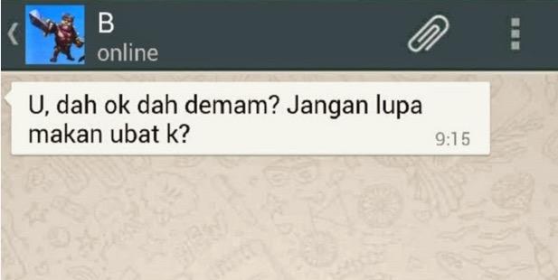 Perbezaan Whatsapp Semasa Bercinta Dan Selepas Berkahwin