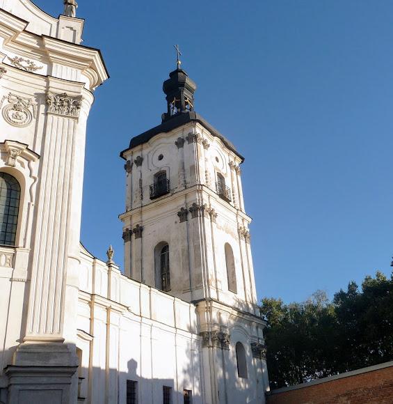 Бердичев. Костёл Непорочного Зачатия Девы Марии. 1754 г. Колокольня