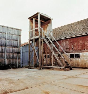 Disused gallows in Smyrna prison, Delaware, 1991
