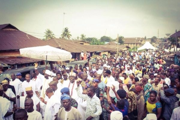 Ooni Celebrates Osun Festival Without Queen Wuraola