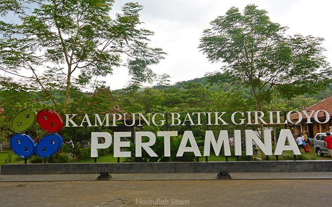 Menyambangi Kampung Batik Giriloyo, Wukirsari