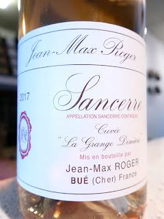 Jean-Max Roger La Grange Dîmière Sancerre Rosé 2017 (90 pts)