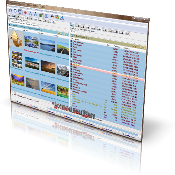 Unreal Commander 3.57 (Build 1417) + GraphicsPack | Completo navegador de archivos para Windows