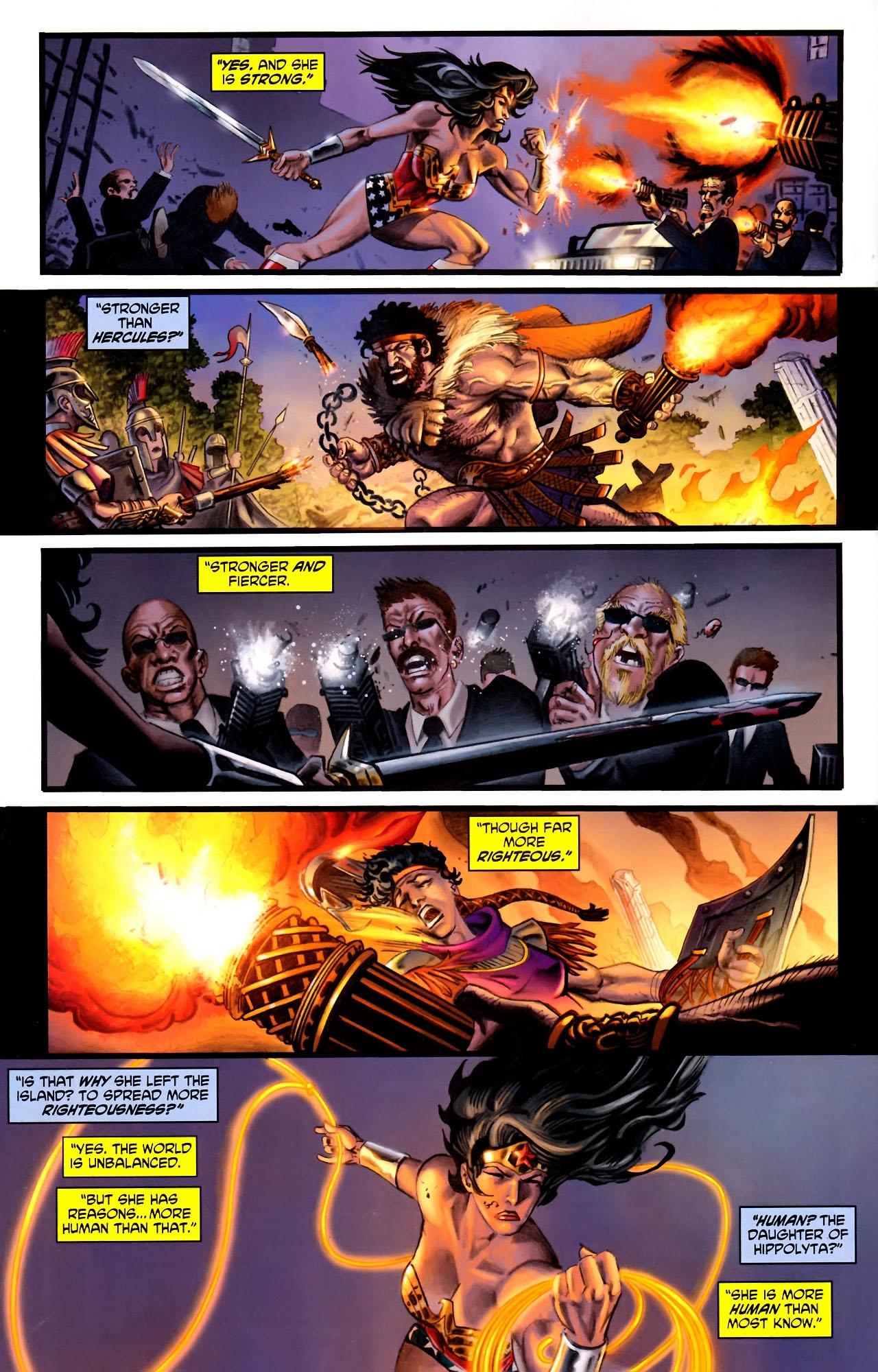Read online Wonder Woman (2006) comic -  Issue #600 - 31