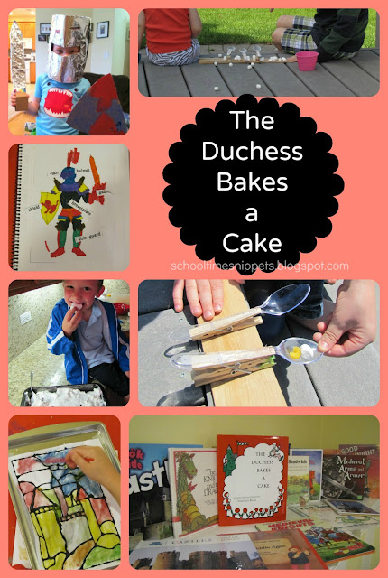 Five in a Row The Duchess Bakes a Cake Activities