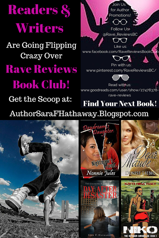 Readers & Writers are Going Flipping Crazy for Rave Review Book Club