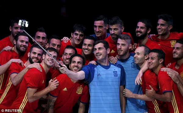 Skuad Spanyol