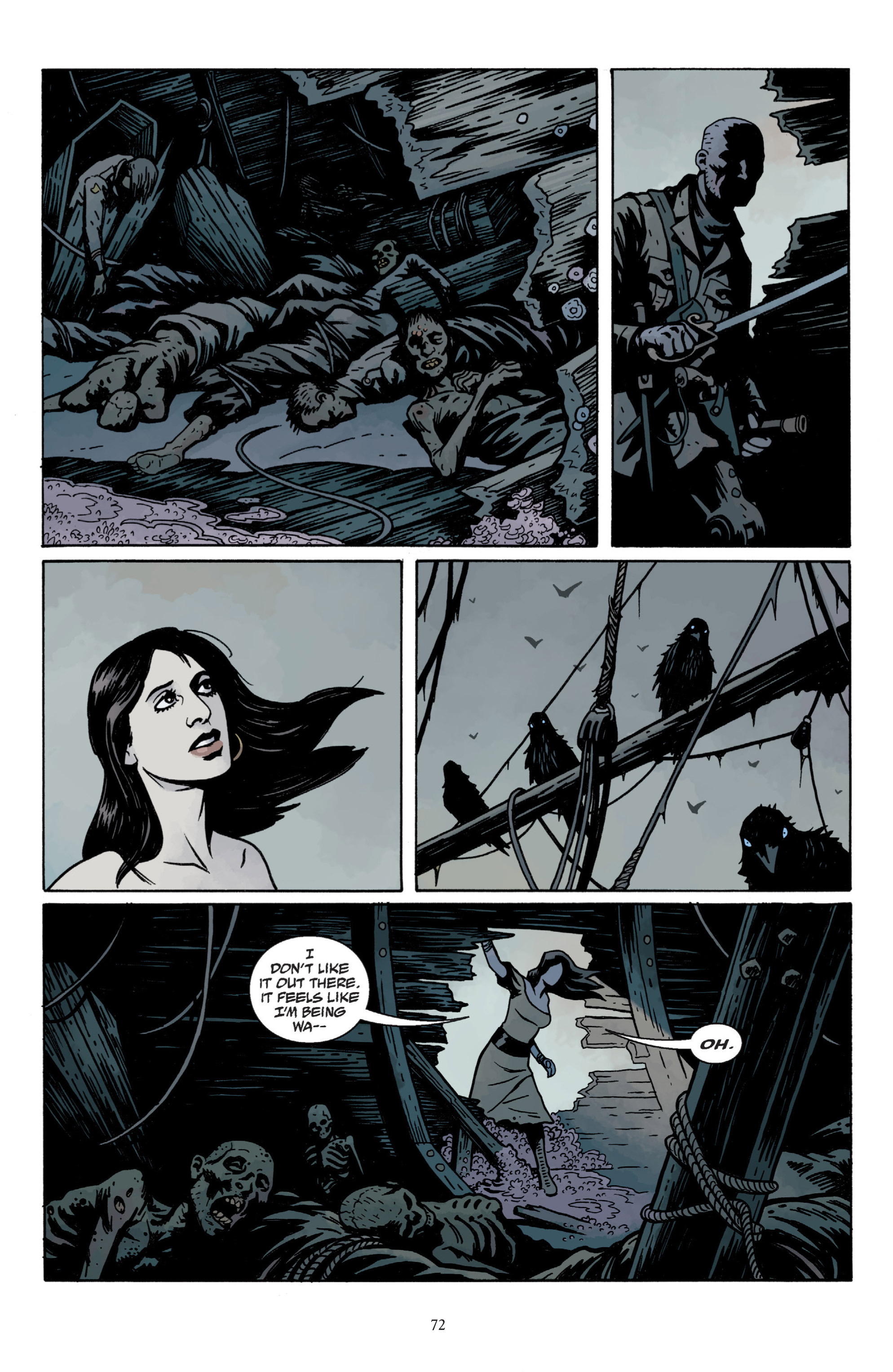 Read online Baltimore: The Plague Ships comic -  Issue # TPB - 74