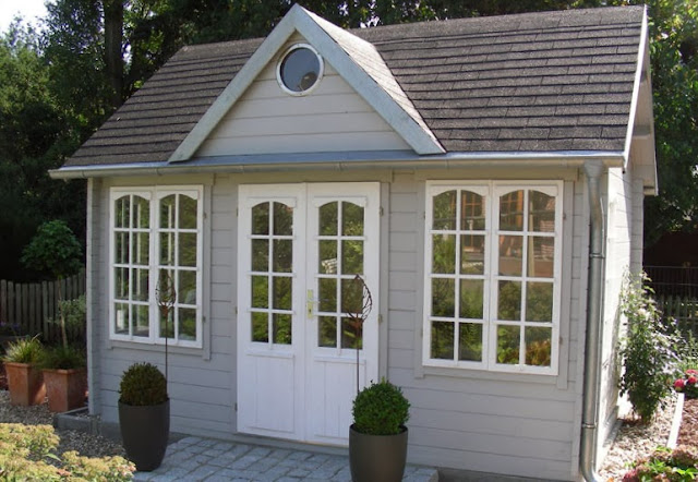 Gartenlaube Gartenhaus