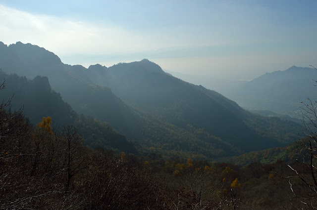 Trail from Lecco to Monte Resegone