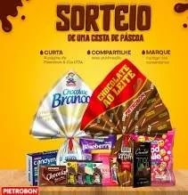 Promoção Pietrobon Alimentos Páscoa 2019 - Cesta de Chocolates