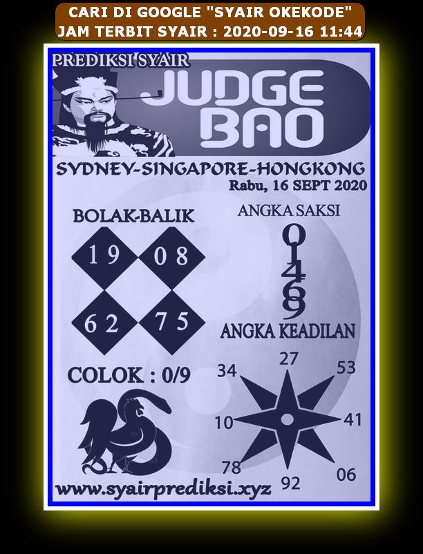Kode syair Hongkong Rabu 16 September 2020 285