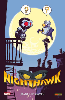 Nighthawk - Stadt in Flammen - Alternatives Cover | Limited Edition