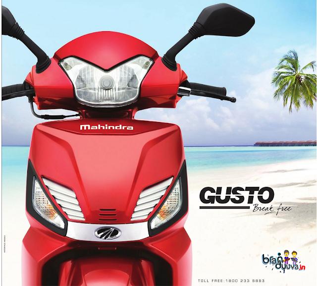 Mahindra gusto brand analysis