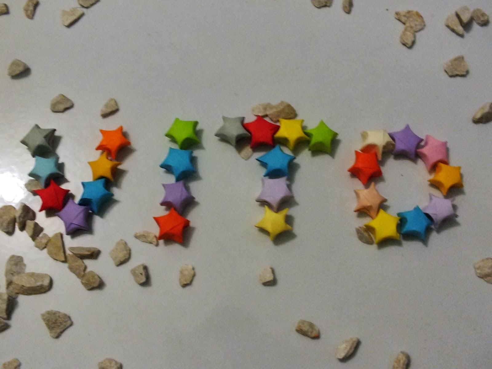 DIY Origami Lucky Stars Chain | a crafty tutorial! – adventuring ... | 1200x1600