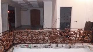 Model Balkon Besi Tempa mewah