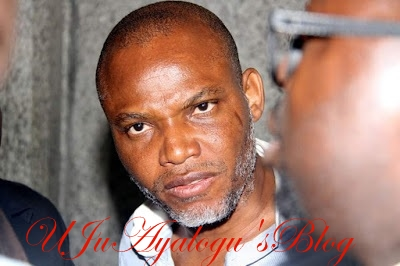 UK seeks clarification about Kanu's status, whereabouts from FG
