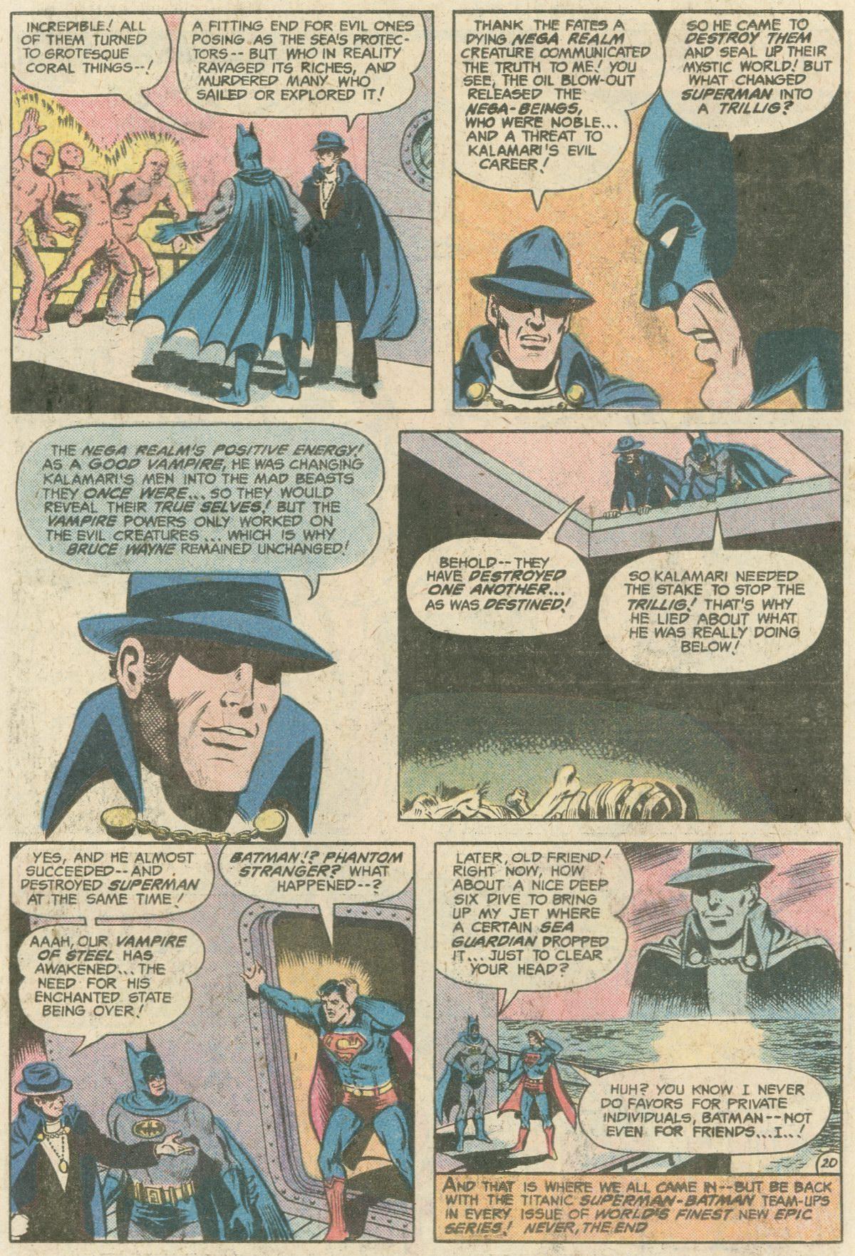 Read online World's Finest Comics comic -  Issue #249 - 21