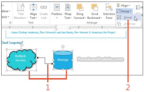 Cara Mengubah Outline Dan Fill Menambahkan Teks Menggabungkan Dan Mengedit Point Shape Di Word 2013