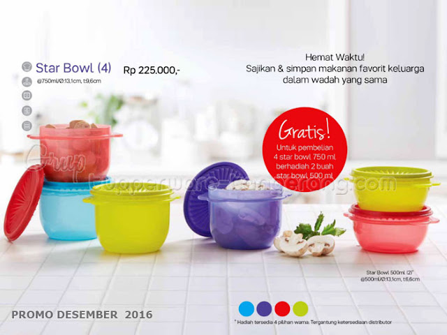 Star Bowl Promo Tupperware Desember 2016
