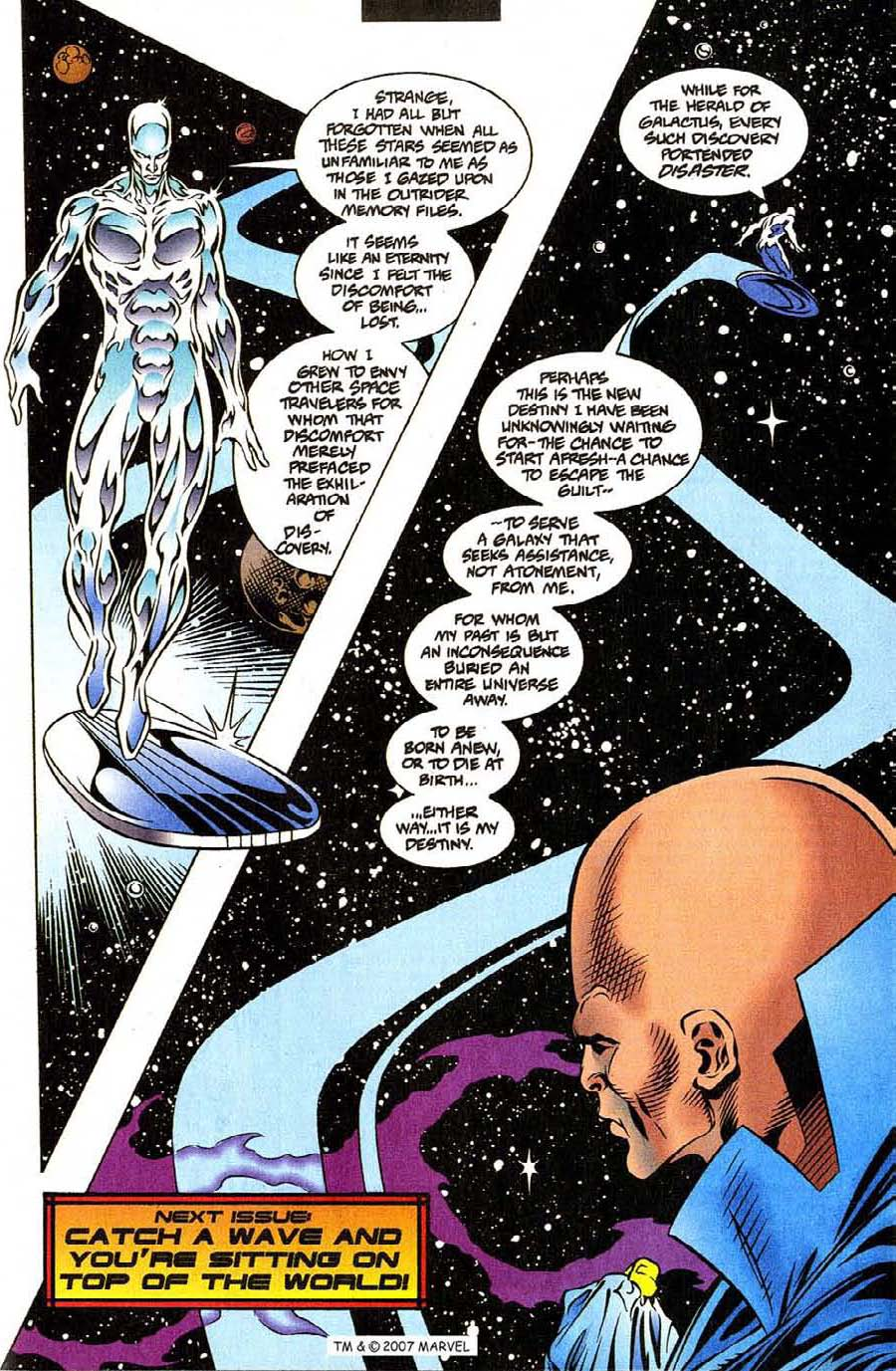 Read online Silver Surfer (1987) comic -  Issue #111 - 33