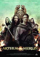 pelicula Arthur and Merlin (2015)