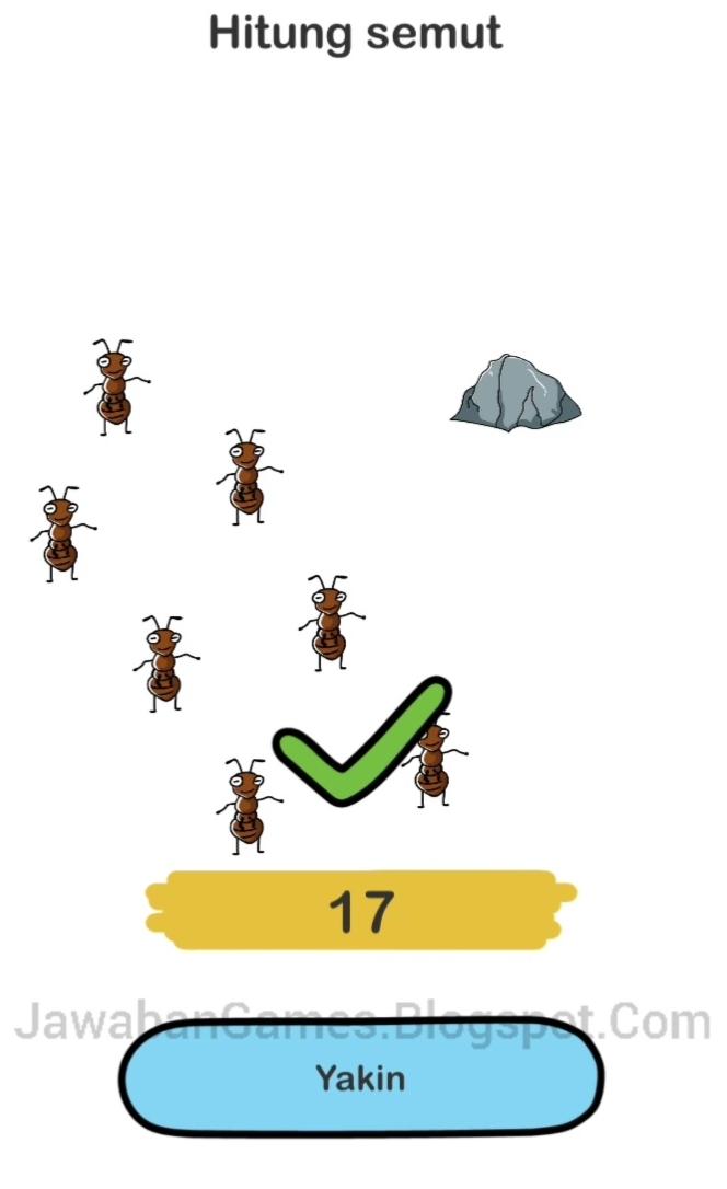 Brain Out Hitung Semut : brain, hitung, semut, Brain, Level, Hitung, Semut, (Terbaru, 2021)