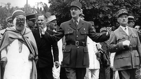 Charles de Gaulle in Algeria