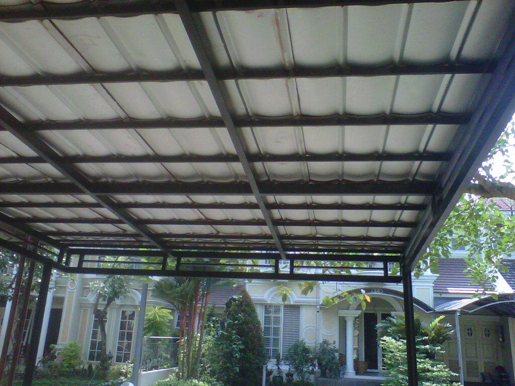model variasi kanopi baja ringan canopy carport,kanopi: bina karya foto/gambar ...