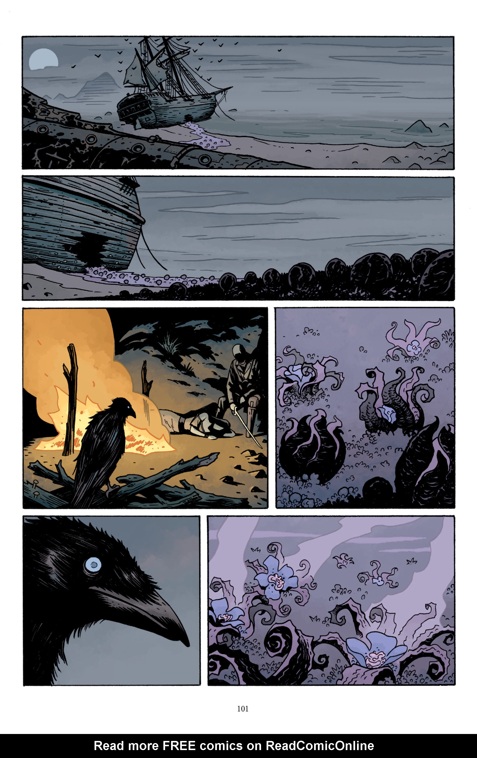 Read online Baltimore: The Plague Ships comic -  Issue # TPB - 101