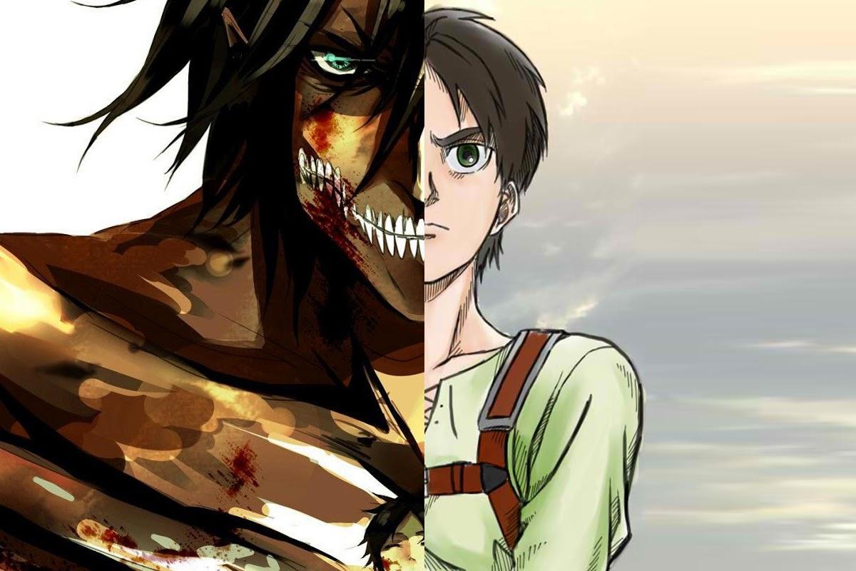 5 orang yang bisa berubah menjadi titan di anime attack on titan