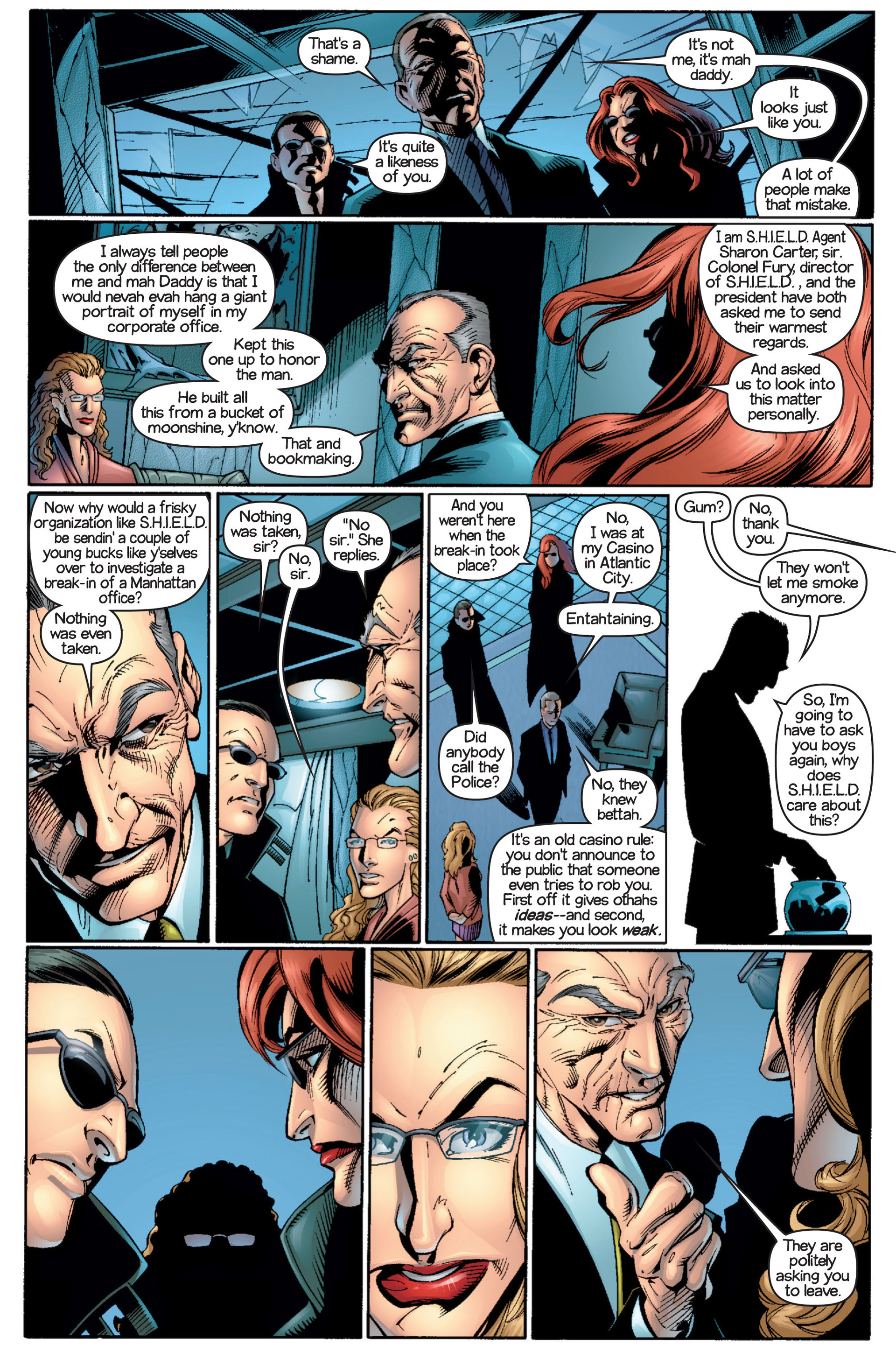 Read online Ultimate Spider-Man (2000) comic -  Issue #16 - 15